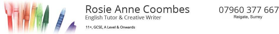 Rosie Anne Coombes – English Tutor – Reigate, Surrey